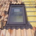 ventana Velux tejado