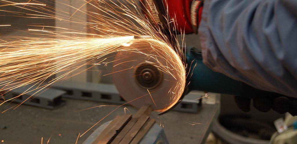 maquina de cortar hierro