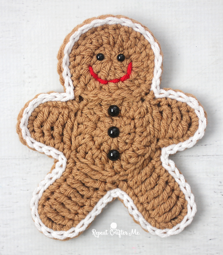 Crochet Gingerbread Man Repeat Crafter Me