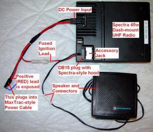 Motorola Spectra Wiring Diagram  Wiring Diagram