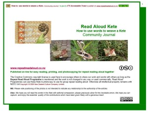 Read Aloud Kete