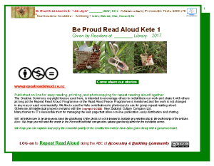log on to read aloud Kete 2 template