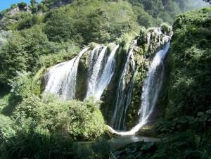 Marmore Falls in Umbria