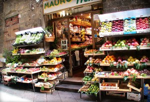 Fruit Shop in Italy