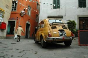 Street Life in Italian Village