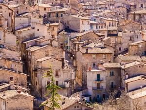 Village in the mountains, Abruzzo