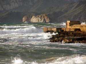 Winter Sea in Sardinia