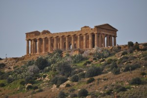 Main Temple in Agrigento's Temple Valley
