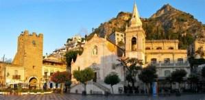 Main Square in Taormina
