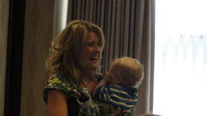 Sonya at conference