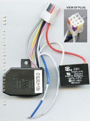 Buy HamptonBay Ceiling Fan Receiver Reverse Module UC7067REVB