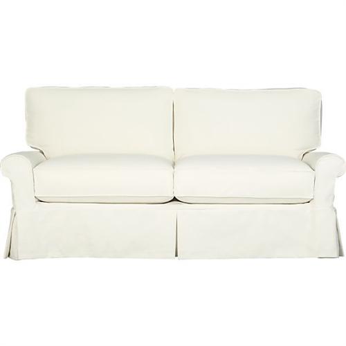 slipcover for crate barrel bayside sleeper sofa with full sleeper 78