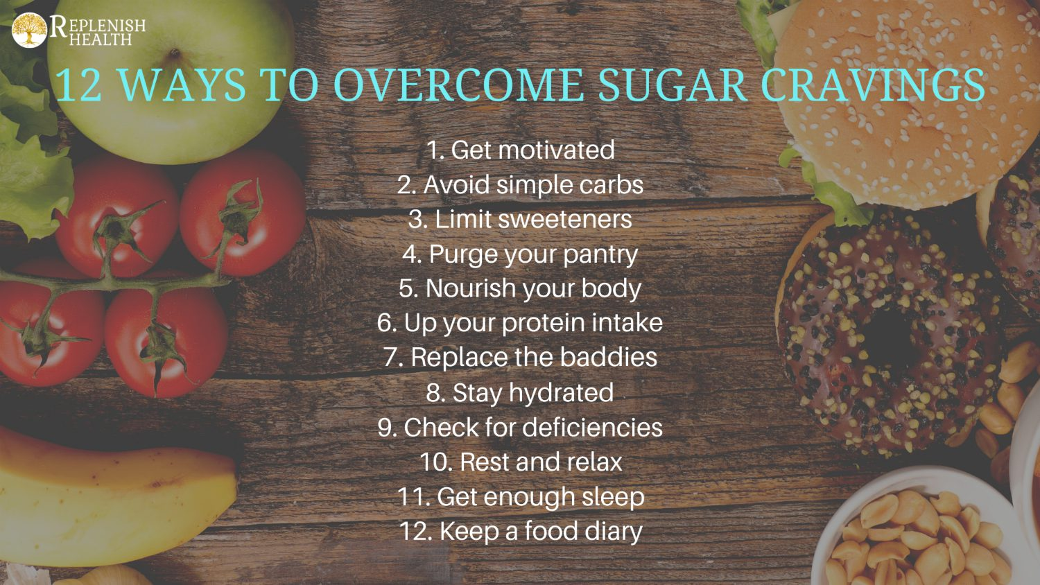 An image of 12 Ways To Overcome Sugar Cravings