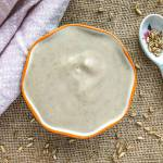 An image of a bowl of Oat Groat Yogurt (Vegan & Instant Pot)