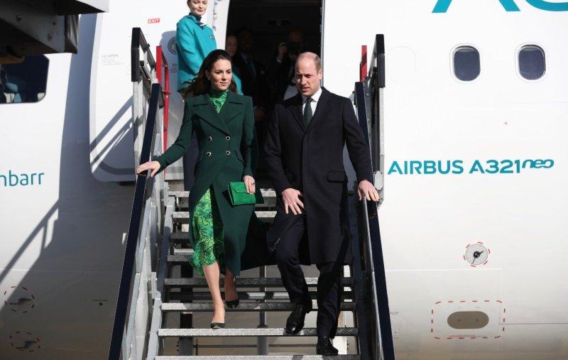Duke and Duchess of Cambridge Dublin Airport