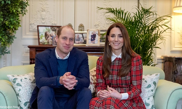 Duchess of Cambridge brings back tartan for Burns Night video