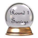 Crystal Ball award for Round 1 Surveys