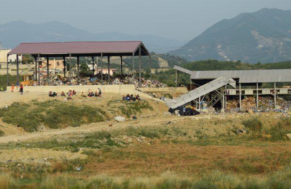 """Impianti i riciklimit i kompanisë """"3 R"""" në landfillin e Sharrës   Foto nga : Besar Likmeta"""