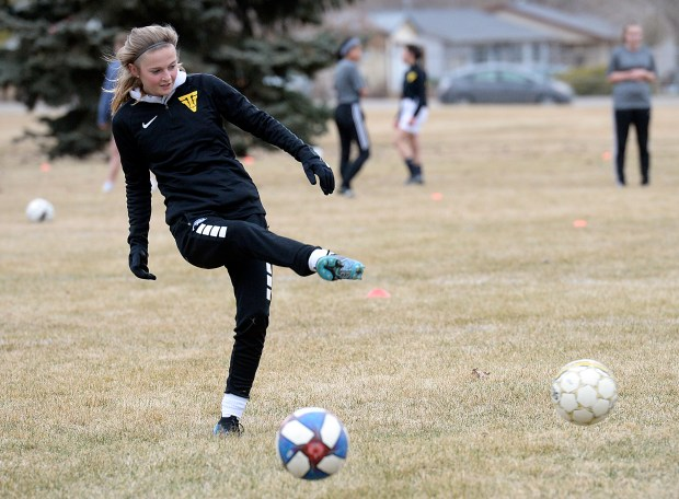 Thompson Valley soccer player Stephanie Gwilliams ...