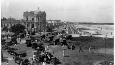 Photo of Maceió Antiga: Praia da Avenida, olha o carros!
