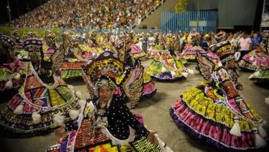 Photo of Estácio dá largada ao desfile do Grupo Especial, na Sapucaí