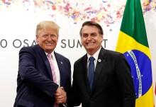 Photo of MUNDO: Bolsonaro parabeniza Trump e os EUA pelo dia da independência