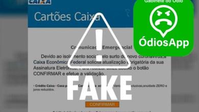 Photo of FAKE NEWS! É falso e-mail que pede atualização de assinatura eletrônica da Caixa Econômica