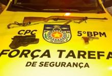 Photo of POLICIAMENTO OSTENSIVO! Quatro armas de fogo são apreendidas na Região Metropolitana