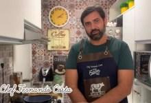 Photo of DICAS DA QUARENTENA! Chef Fernando Costa ensina a preparar um risoto de filé aos 4 queijos; Assista!