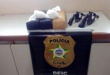 Photo of Suspeitos de tráfico morrem em confronto com a polícia no interior do Estado