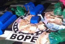 Photo of Bope apreende 6,8 Kg de maconha, moto e R$ 5.700 na parte baixa de Maceió