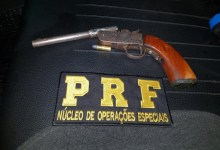 Photo of PRF frustra assalto e prende um dos suspeitos na BR 101, em Joaquim Gomes