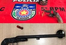 Photo of SEGURANÇA: Batalhão de Radiopatrulha e 5º BPM apreendem armas em ações distintas na Capital