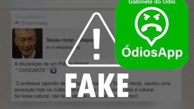 Photo of FAKE NEWS! É falso que Nobel de Medicina disse que coronavírus foi criado em laboratório
