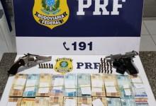 Photo of Dois homens armados são presos suspeitos de envolvimento com jogos de azar em São Sebastião, AL