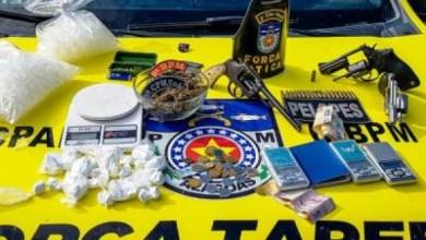 Photo of OPERAÇÃO: PM prende foragido da Justiça e envolvidos com tráfico de drogas no Norte de Alagoas