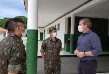 Photo of NO 59º BI MTZ DO EXÉRCITO – Marx Beltrão assegura busca por recursos para Escolas Cívico-Militares em Maceió e Coruripe