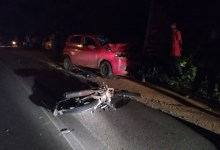 Photo of Colisão entre carro e motocicleta deixa uma pessoa ferida em Palmeira dos Índios, AL