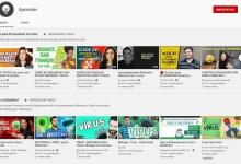 Photo of YouTube lança aba 'Aprender' no Brasil com conteúdos educativos