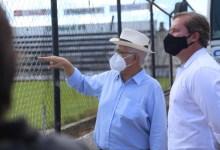 Photo of Prefeito Rogério Teófilo e o deputado Marx Beltrão visitam importantes obras executadas em Arapiraca