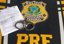 Photo of Foragido da Justiça é preso pela PRF na BR-316, em Maceió