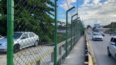 Photo of Instalação de grades na Ponte do Reginaldo está em fase final