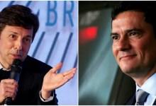 Photo of Sergio Moro e João Amoêdo, do Novo, trocam gentilezas nas redes sociais