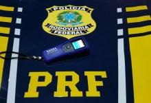 Photo of PRF prende motorista por embriaguez ao volante na BR-316, em Palmeira dos Índios