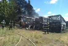 Photo of Incêndio atinge sete ônibus no Tabuleiro do Martins, em Maceió