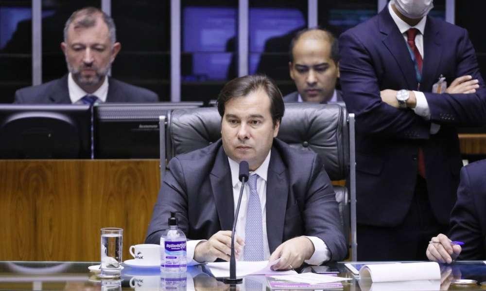 Rodrigo Maia corte de orçamento