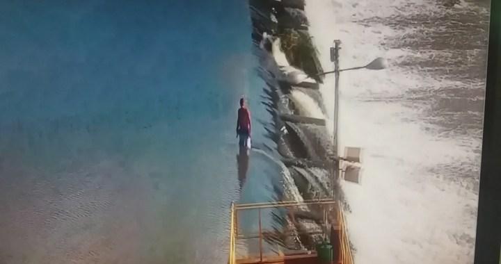 Adolescente é detido com peixe fisgado em cima da barragem da ARATU