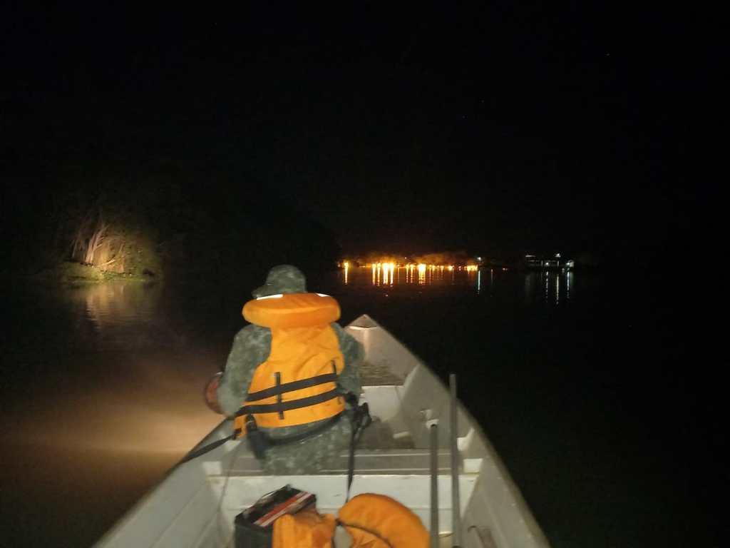 Policiais Militares Ambientais do 1º Pelotão realizaram patrulhamento náutico