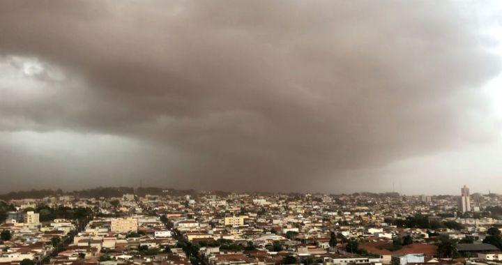Interior de São Paulo registrar nova tempestade de areia