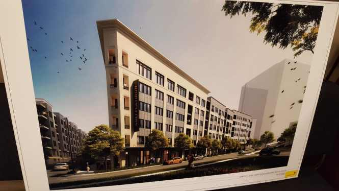 A Conceptual Drawing Of The Amli Flatiron Apartment Building As Presented To Spi 12 Development Review Committee July 11 John Ruch